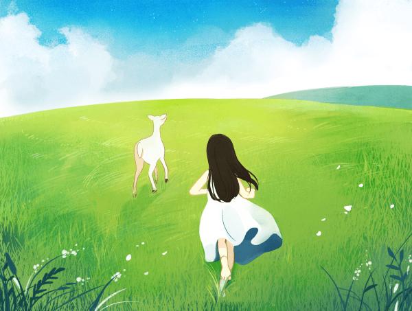 [ 하은지 x 샤토 ] 초원을 달리다