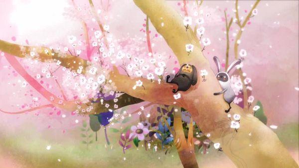 벚꽃이 흩날리던 날